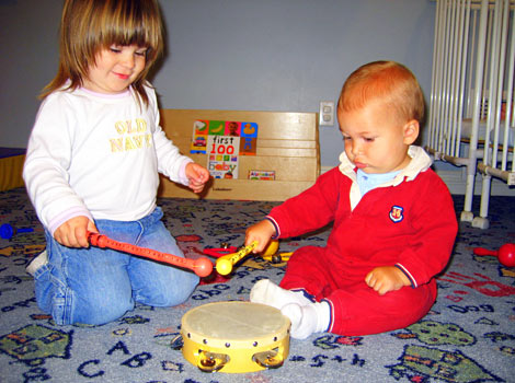 music and dance at Building Blocks Home Daycare
